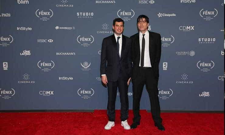 Ricardo Giraldo y Rodrigo Peñafiel. Premios Fenix.