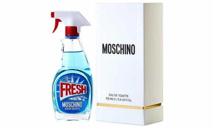 Perfume Fresh, de Moschino.