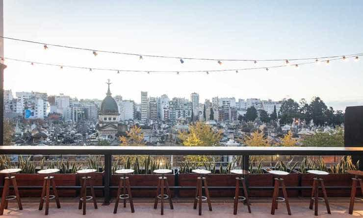 Buller Pub, una terraza pintoresca.