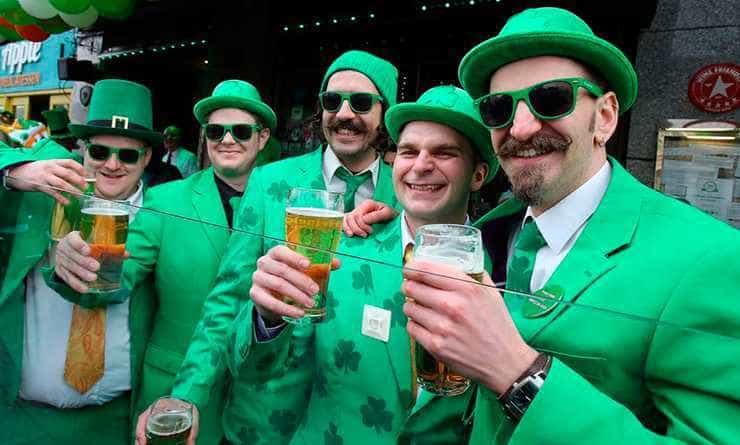 San Patrick's Day, Dublin