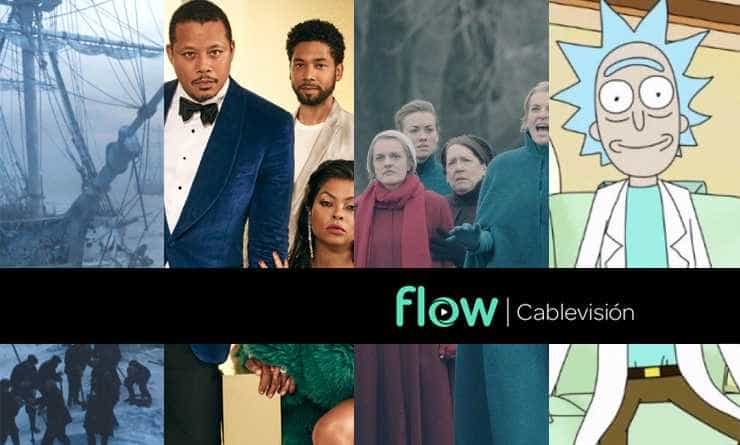 Qué Miramos by Flow. The Terror – Empire – The Handmaid's Tale – Rick & Morty