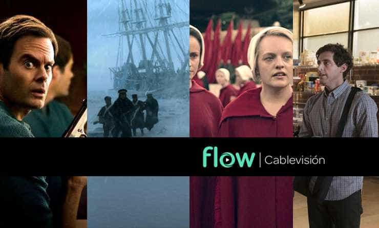 Qué Miramos by Flow. Barry – The Terror – The Handmaid's Tale – Silicon Valley