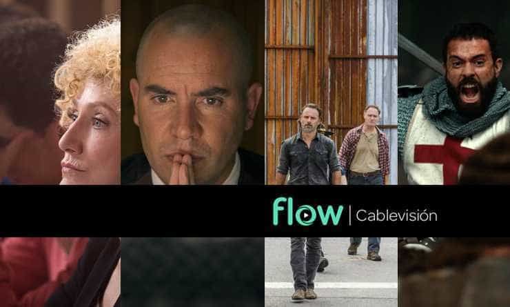#Qué miramos by Flow. Law & Order True Crime-Riphagen-The Walking Dead-Knightfall