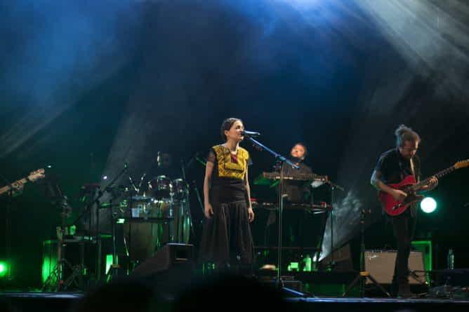Natalia Lafourcade en el Gran Rex