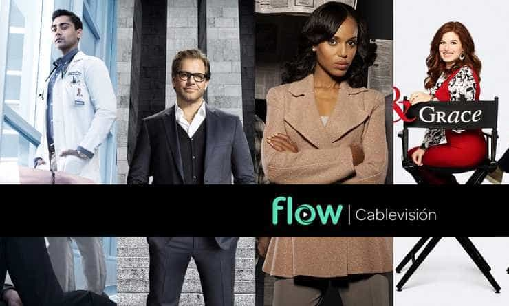 Qué miramos by Flow. The Resident – Bull – Scandal – Will & Grace