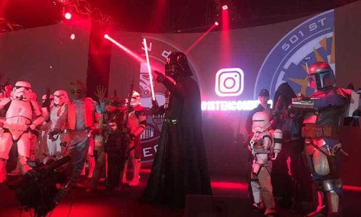 Legion 501st Garrison Argentina, en Comic Con 2018