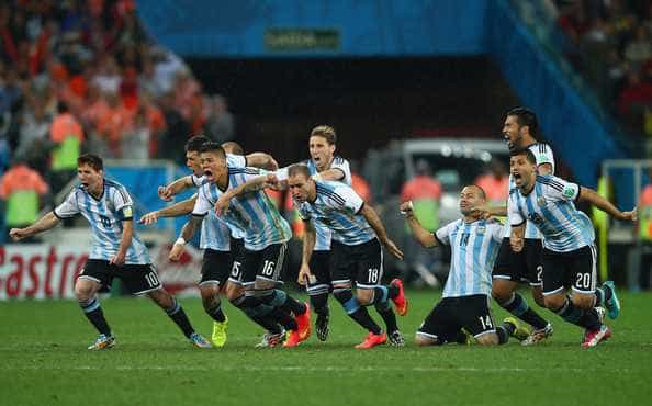 Argentina – Holanda . Brasil 2014