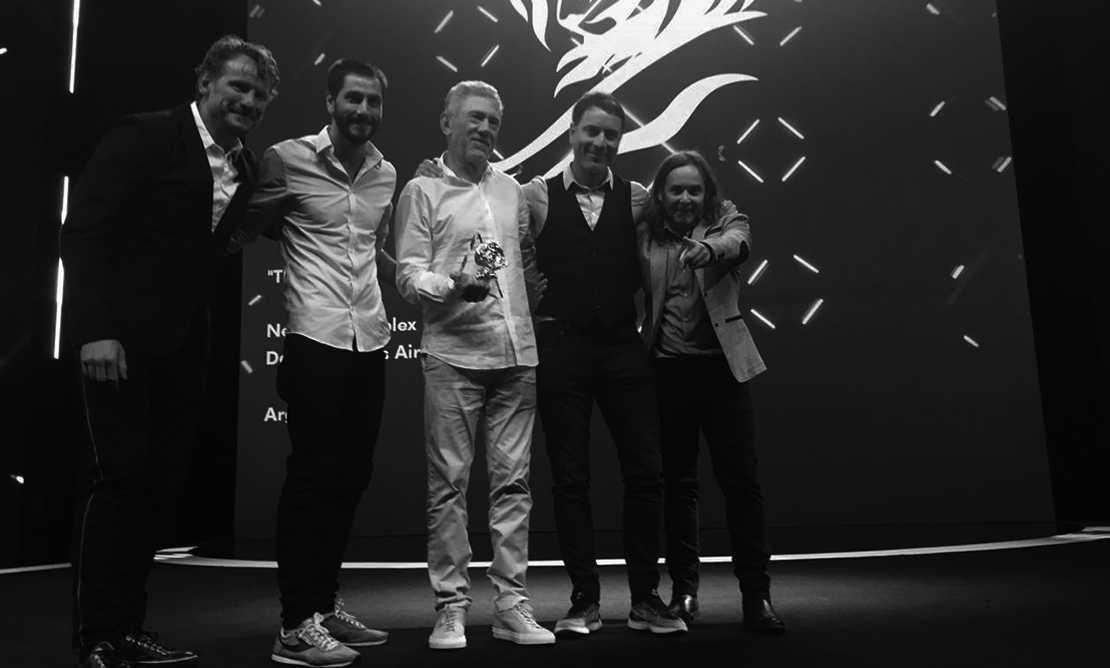 David The Agency BA, Ganadora del León de Oro