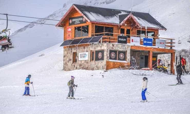 Chapelco, el primer centro de ski con producción de energía renovable.