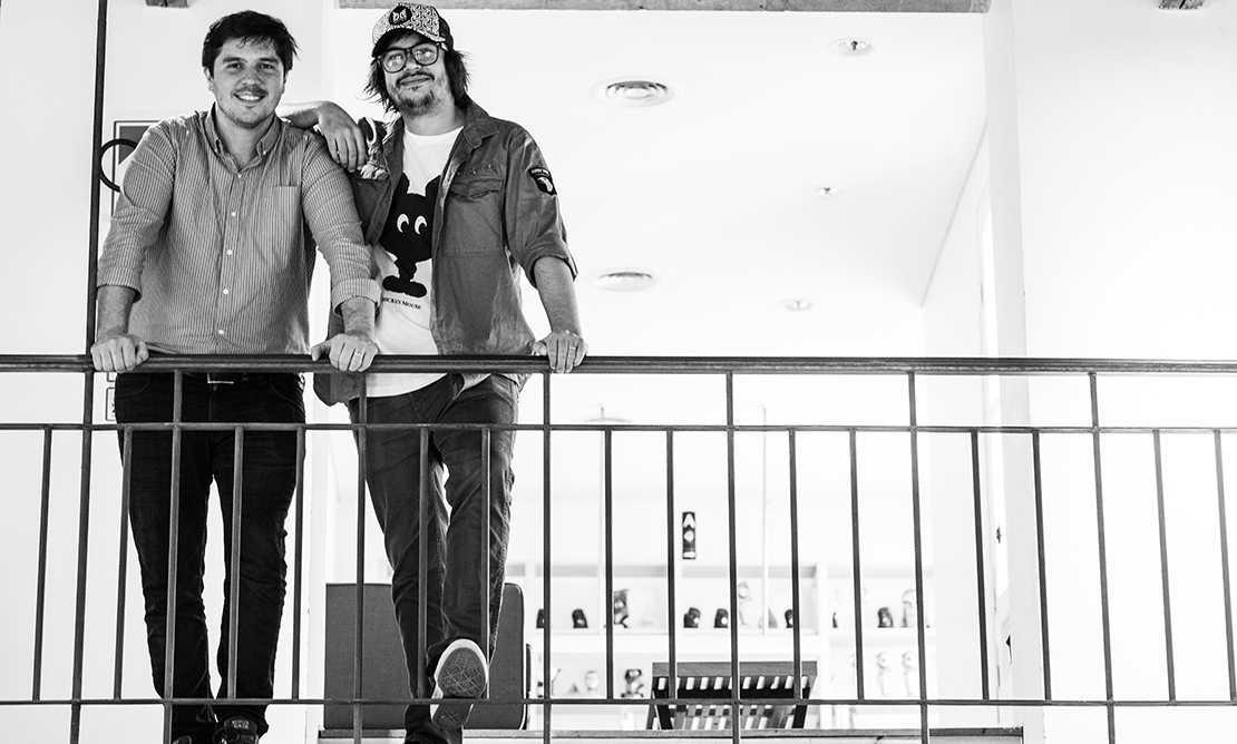 """Agustín """"Guchi"""" Coste & Santiago """"Cony"""" Etchart , Directores de Cuentas de la agencia."""