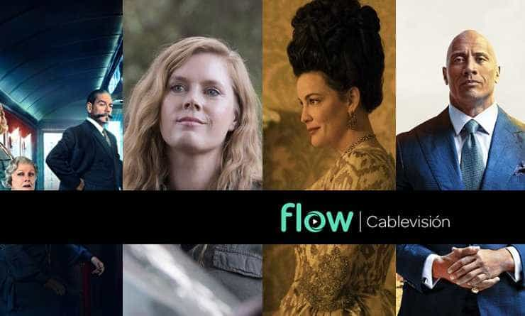 "Qué Miramos by Flow. Asesinato en el ""Orient Express"" - Sharp Objects - Harlots - Ballers"