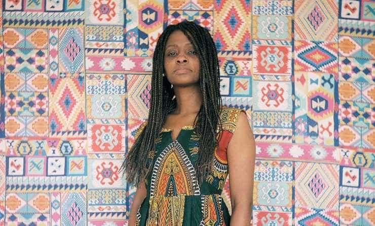 """Exposición """"Afrovisibilidad"""". Foto Ezequiel Sambresqui"""