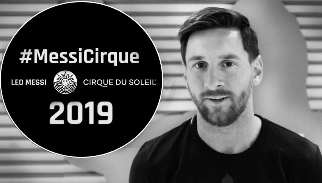 #MessiCirque