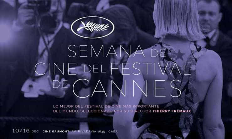 Semana de Cine del Festival de Cannes en Argentina