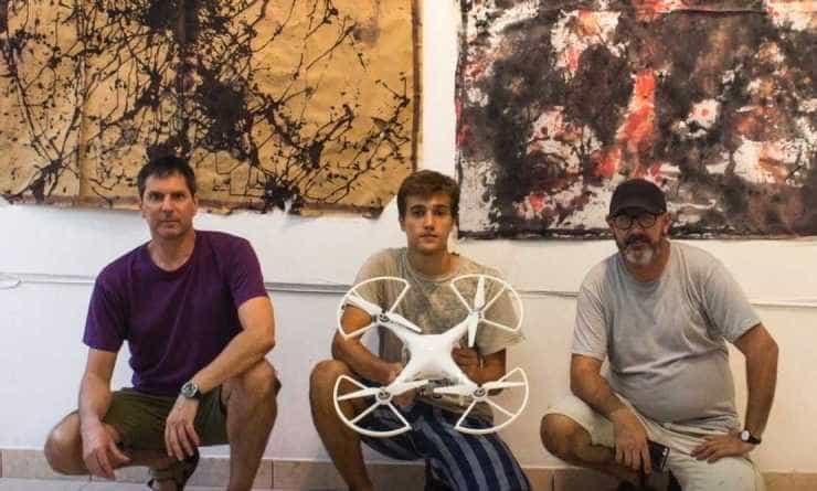Arte con drones