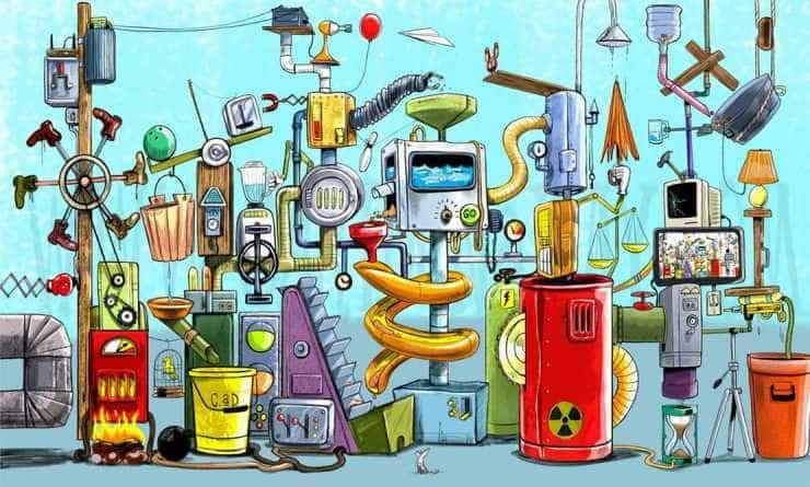 Les Imans y la máquina de la creatividad