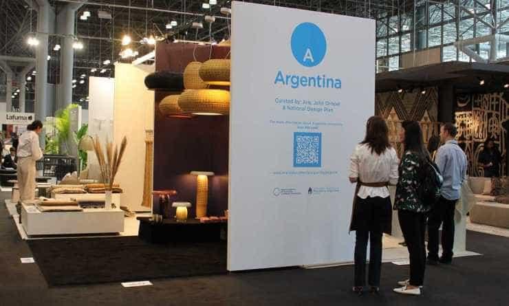 Presencia Argentina en la feria ICFF